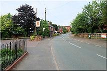 SJ4623 : The Main Road through Myddle by David Dixon