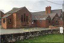 SJ4623 : The Village Hall, Myddle by David Dixon