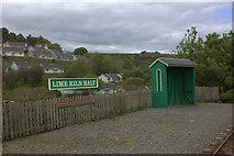SC4278 : Groudle Glen railway, Lime Kiln Halt by Robert Eva