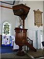 SE2918 : St Peter & St Leonard, Horbury - pulpit by Stephen Craven