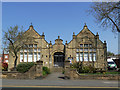 SE2918 : Horbury Carnegie Library by Stephen Craven