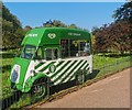TQ2979 : Vintage Ice Cream Van, St James's Park by PAUL FARMER