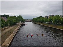 SE5952 : Kayakers on the Ouse by DS Pugh