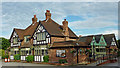 SP1780 : The Boat Inn at Catherine-de-Barnes near Solihull by Roger  Kidd