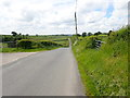 H9127 : View West-southwest along the eastern section of Tullyneill Road by Eric Jones