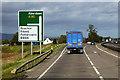 NO6063 : Northbound A90 near Keithock by David Dixon
