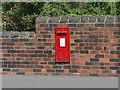 SE2918 : GR Postbox, Westfield Road, Horbury by Stephen Craven
