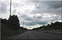 SP6632 : The A421, Tingewick by David Howard