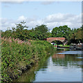 SP1974 : Grand Union Canal south of Knowle near Solihull by Roger  Kidd