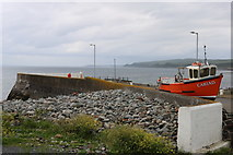 NX3343 : The Quay at Port William by Billy McCrorie