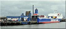 """J3475 : The """"Stena Scotia"""", Albert Quay, Belfast harbour - June 2019(2) by Albert Bridge"""