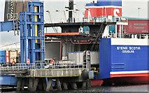 """J3475 : The """"Stena Scotia"""", Albert Quay, Belfast harbour - June 2019(3) by Albert Bridge"""