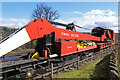 SO7192 : Severn Valley Railway - breakdown crane by Chris Allen