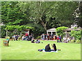 TQ2879 : Belgrave Square garden, Open Garden Squares Weekend by David Hawgood