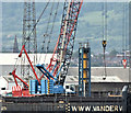 J3677 : Crawler cranes, VT2, Belfast harbour (June 2019) by Albert Bridge