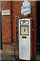 SO8540 : Old petrol pump by Philip Halling