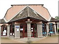 NO6995 : Banchory Public Library entrance by Stanley Howe