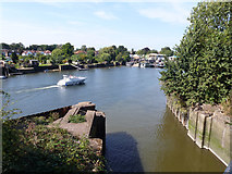 TQ1672 : Looking out over former gravel workings lock by Robin Webster