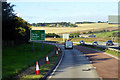 NO8687 : Southbound A90 near Stonehaven by David Dixon