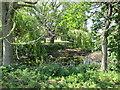 SE8126 : Pond  at  Low  Metham  Grange by Martin Dawes