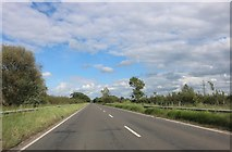 SP6519 : The A41 near Ludgershall by David Howard