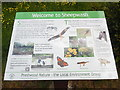SP8600 : Information Board at Sheepwash Pond, Prestwood (1) by David Hillas