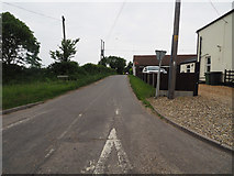 TF8707 : Looking down Brown's Lane by David Pashley
