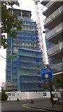 TQ1885 : New block of flats on Park Lane by David Anstiss