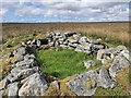 NB3947 : Shieling hut by the Allt a' Bhioraich, Isle of Lewis by Claire Pegrum