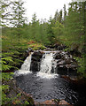 NH2613 : Waterfall on the Allt na Muic by Craig Wallace