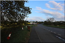 SP6359 : Layby on the A5, Weedon Bec by David Howard