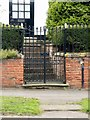 SK4426 : Gateway at Springhill House, High Street, Castle Donington by Alan Murray-Rust