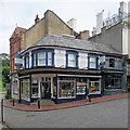 TQ5838 : Tunbridge Wells: Hall's Bookshop by John Sutton
