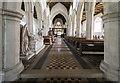 TG1728 : Interior, St Andrew's church, blickling by J.Hannan
