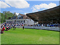 TQ5838 : Tunbridge Wells: the lunch interval at the Nevill Ground by John Sutton