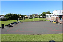 NS2107 : Playground at Maidens Primary School by Billy McCrorie