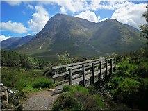 NN2256 : Footbridge over Allt a'Mhain by Euan Nelson