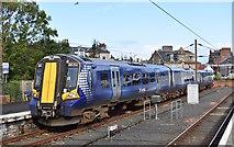 NS2059 : 380014 at Largs Railway Station, North Ayrshire by Mark S