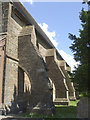 ST7441 : Flying buttresses of St Mary's by Neil Owen