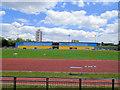 TQ3681 : Mile End Athletics Stadium by Paul Gillett