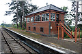 SP0838 : New signal box at Broadway by Chris Allen
