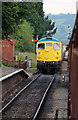 SP0532 : Toddington Station - approaching diesel by Chris Allen