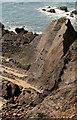 SS1904 : Rocks, Upton Cliffs by Derek Harper