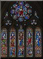 TG1728 : East Window, St Andrew's church, Blickling by Julian P Guffogg