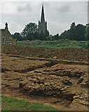 SK8608 : Archaeological dig at Oakham Castle by Mat Fascione