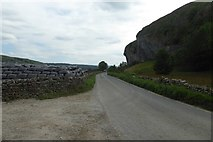 SD9768 : Bales and Kilnsey Crag by DS Pugh