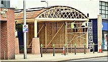 J3674 : New wooden building, Connswater, Belfast (June 2019) by Albert Bridge