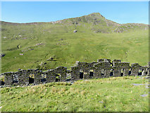 SH6152 : South Snowdon Quarry barracks by Gareth James