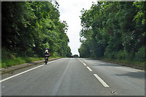 SP7289 : Cresting Gallow Hill on the B6047 by Robin Webster