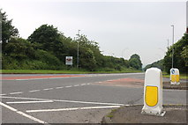 TA1201 : Grimsby Road at the junction of the Caistor By-pass by David Howard